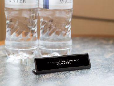 With Hotel Bottled Water, Every Drop Counts